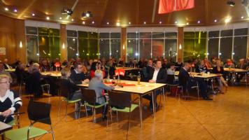 Gut besuchte Bürgerhalle in Schwarzenbruck