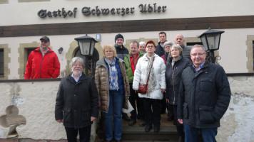 Die SPD-Mitglieder waren beeindruckt von den freundlichen Zimmern, die in der Gaststätte und dem anschließenden Saal entstanden sind