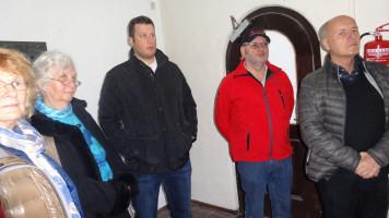 Die SPD Mitglieder waren interessiert über das Ergebnis des Umbaus