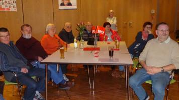 Die Genossen des Ortsvereins Schwarzenbruck waren zahlreich vertreten