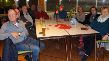 auch die Nachbarortsvereine besuchten den politischen Aschermittwoch in Schwarzenbruck