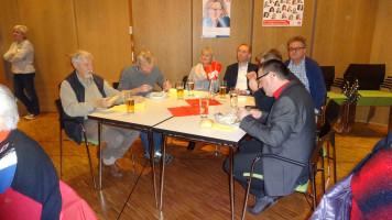 vom Vorstand des Ortsvereins: Petra Schöpfer und MartinGlienke