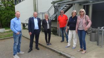 SPD besucht Jugendraum