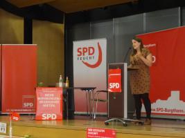 Ronja Endres kämpft für ein gutes Ergebnis bei der Bundestagswahl
