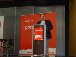 SPD Kandidat Jan Plobner zeigte seine Schwerpunkte auf
