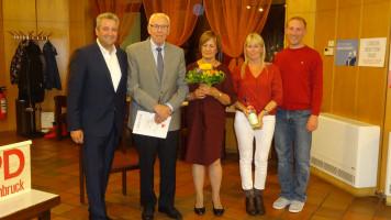 60 Jahre SPD Mitgliedschaft - danke an Helmut Ritzer und seine Ehefrau Renate