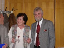 Werner Ecker ehrt Getraud Fuchs für 40-jährige Mitgliedschaft in der SPD