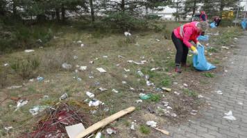 Soviel Abfall auf einem Fleck
