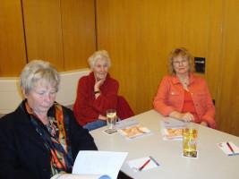 Getraud Fuchs besucht die Mitgliederversammlung