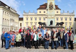 Erster Halt Barockschloss in Ludwigsburg