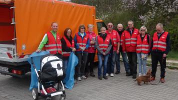 Das SPD Team - hochmotiviert mit neuen Warnwesten